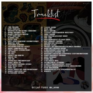 DJ Latitude The Difference Mixtape tracklist