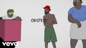 VIDEO: Broda Shaggi Ft. Zlatan – Okoto (Visualizer)
