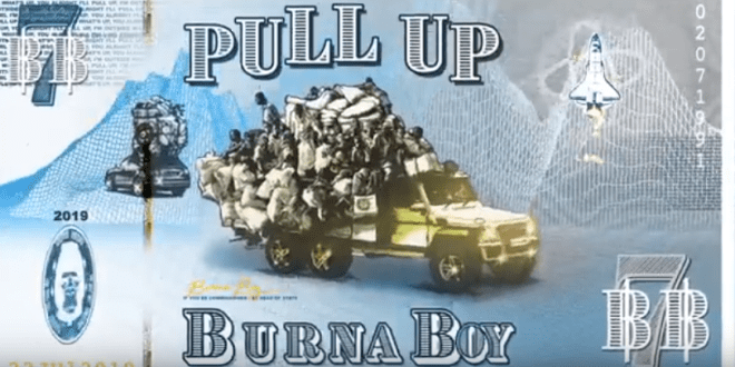 Burna Boy – Pull Up [Lyrics]